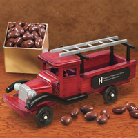 1940-Era Pick-up Truck with Chocolate Almonds